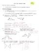 Geometry Notes: Congruent Triangles Introduction