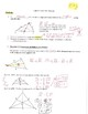 Geometry Notes: Medians