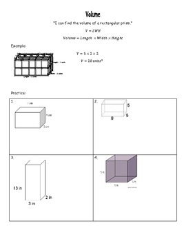 Geometry Notes Packet