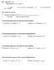Geometry Notes: Parallel and Perpendicular Lines