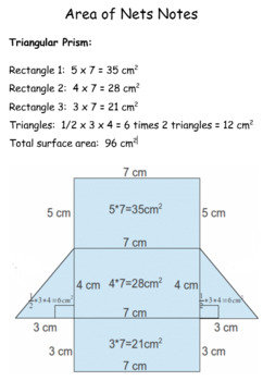Geometry Notes - Perimeter, Area and Volume