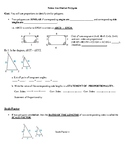 Geometry Notes: Similar Polygons