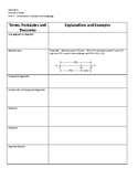 Geometry Notes Template 1
