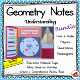 Interactive Geometry Notes Bundle
