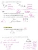 Geometry Notes: Triangle Sum Properties