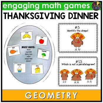 Geometry Thanksgiving Game