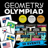 Geometry Winter Games 2018 Pack of Activities, High School