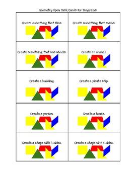 Geometry Open Tasks for Tangrams