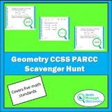 Geometry PARCC CCSS Scavenger Hunt