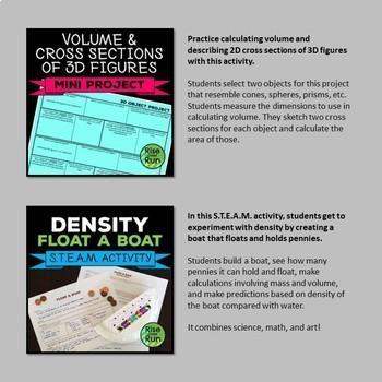Geometry PBL Bundle of Projects