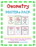 Geometry POSTERS Bundle - Just Posters! 35 Posters in All!