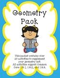 Geometry Pack: 1.G.1 & 1.G.2