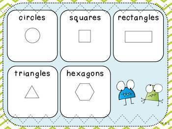 Geometry Pack 2-Naming Shapes (Kindergarten-K.G.2)