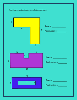 4th Grade Geometry Packet with Key