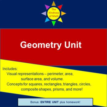 Geometry Unit Packet