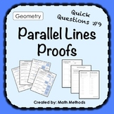 Parallel Lines Proof Activity: Fix Common Mistakes!