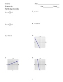 Geometry - Parallel Lines and the Coordinate Plane - Homework Pack
