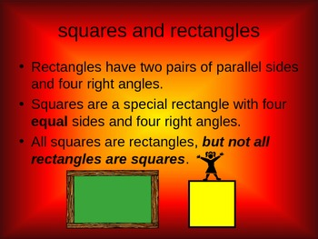 Geometry Parallelograms Vocabulary Powerpoint