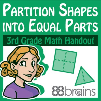 Geometry: Partition Shapes Into Equal Parts pgs.38-40 (CCSS)
