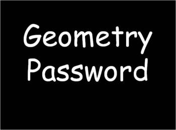 Geometry Password