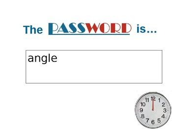 Geometry Password