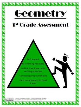 Geometry Performance Review and Assessment - 1st Grade