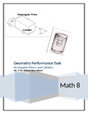 Geometry Performance Task