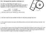 Geometry Performance Task Toilet Paper Dimensions (Common Core)