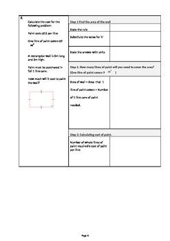Geometry Perimeter, Area, Identifying Shapes Worksheets