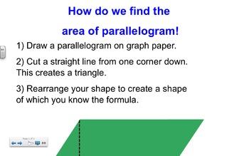 Geometry Perimeter and Area