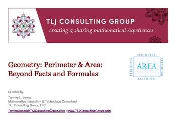 Geometry Perimeter and Area beyond Facts and Formulas