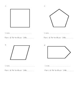 Geometry - Perpendicular Sides in Polygons