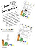 I Spy Geometry Project