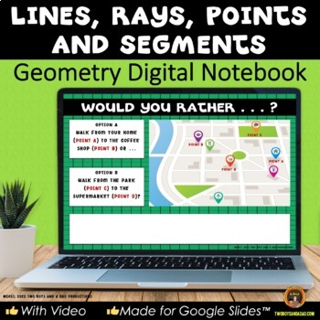 Geometry Plane Figures Lines for Google Drive®