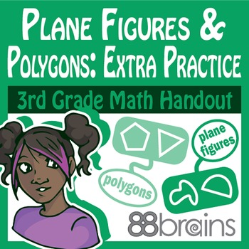 Geometry: Plane Figures and Polygons Extra Practice pgs.23-25 (CCSS)