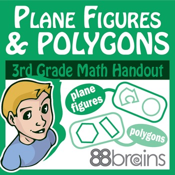Geometry: Plane Figures and Polygons pgs.20-22 (CCSS)