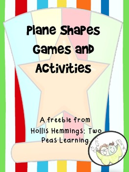 Geometry: Plane Shapes Games and Activities Freebie