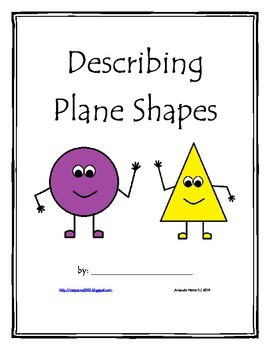 Geometry:  Plane Shapes/Figures Booklet