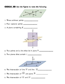 Geometry: Points, Lines & Planes!