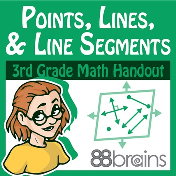Geometry: Points, Lines, and Line Segments pgs.14-16 (CCSS)