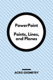 Geometry - Points, Lines, and Planes PowerPoint presentation