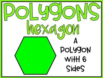 Geometry: Polygon Posters!