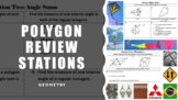 Geometry Polygon Review Stations with Optional Raffle Component!