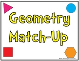 Geometry Polygon Shape Concentration Match Up Game
