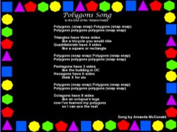 Geometry: Polygon Song