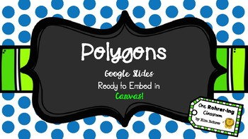 Geometry Polygons: Google Slides to Embed in Canvas