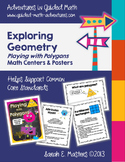 Geometry - Polygons - Math Centers & Posters to Support the Common Core