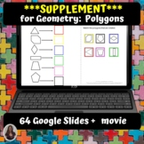 Geometry Polygons Supplement with Digital Activities | Dis