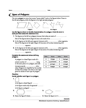 Geometry: Polygons and an Introduction to Logic