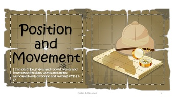Geometry Position and Movement Maths Pack